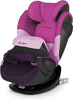 Cybex Silver Pallas M-Fix 519001095 Silla de Coche Grupo 1/2/3, 2 en 1 para Niños, para Coches con y sin Isofix, Colección Color 2021, Morado (Purple Rain)