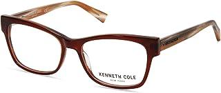Eyeglasses Kenneth Cole New York KC 0297 049 matte dark brown