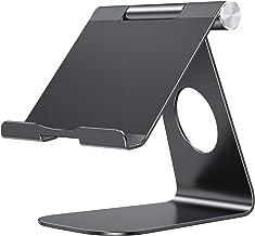 پایه لمسی OMOTON قابل تنظیم سازگار با iPad، قرص (تا 12.9 اینچ) و تمام تلفن های همراه، پایه چسبنده پایه، سیاه