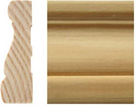 MAOS 5/8in x 2in x 7'ft Pine Finger-Joint Casing Moulding (6-Pieces)