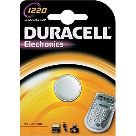 Duracell Lithium Tablet 1220 Elektronik