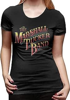 Jamychalsh The Marshall Tucker Band Rainbow Logo Funny T Shirts Women Cute Tops Graphic Tee