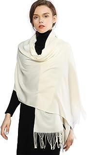 RIIQIICHY Invernale Sciarpa Scialle Pashmina da Donna Elegante Sciarpa Lungo Morbida Calda Stole Sciarpe