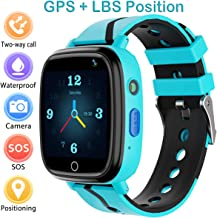 Kids Smart Watch with GPS Tracker,Kids Smartwatch Waterproof,HD Touch Screen Pedometer Fitness Tracker Camera,Watch Wrist Digital Watch Android Phone,Sport Smartwatch for Girls Boys iOS & Android