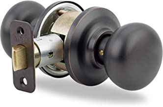 Yale Security YH Collection Cambridge Knob in Oil Rubbed Bronze - Passage