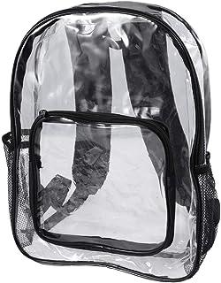 1PC PVC Mochila Transparente Mochila Escolar Transparente Mochila Escolar Cosméticos de Viaje Bolsa de Maquillaje Bolsa organizadora