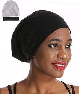 Premium Sleep Cap Slap Beanie Hat - Satin Silk Lined,Amazing Soft Chome Cap