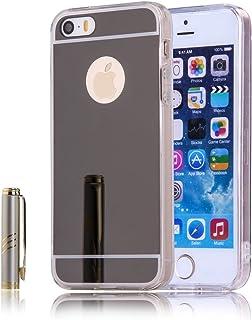 f70e2378e06 iPhone SE 5SE 5 5S Funda Case TOTOOSE, Ultra Slim Fit Shockproof TPU  Parachoques Marco