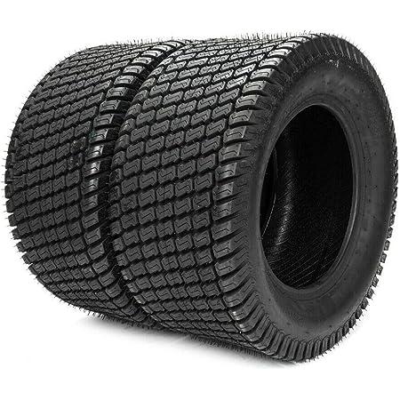 AutoForever 2Pcs Garden Lawn Mower Tires 13X6.50-6 Fit for Turf Golf Cart 4PR P332 Tubeless Golf Cart Tire