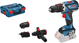 Bosch Professional 18V System GSR 18V-60 FC cordless drill/driver (incl. 4 x adapters, excluding rechargeable batteries an...