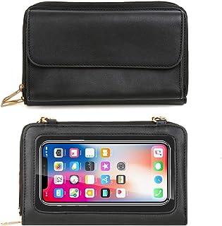 BORIVILLA?2020 Updated Version?Crossbody Cellphone Purse Women Touch Screen Bag RFID Blocking Wallet Handbag Shoulder Strap