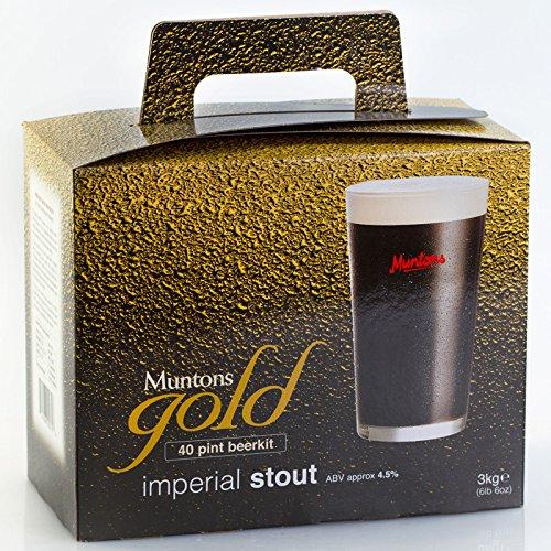 Muntons Gold Imperial Stout - Kit de Cerveza