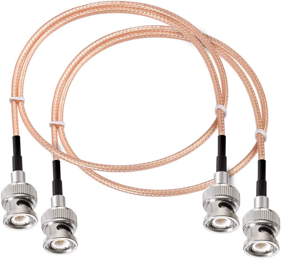 SUPERBAT BNC Cable Male to Max 72% OFF Connector Coaxial Cab Solder Popular brand