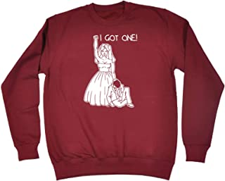 123t Funny Novelty Funny Sweatshirt - I Got One Bride - Sweater Jumper