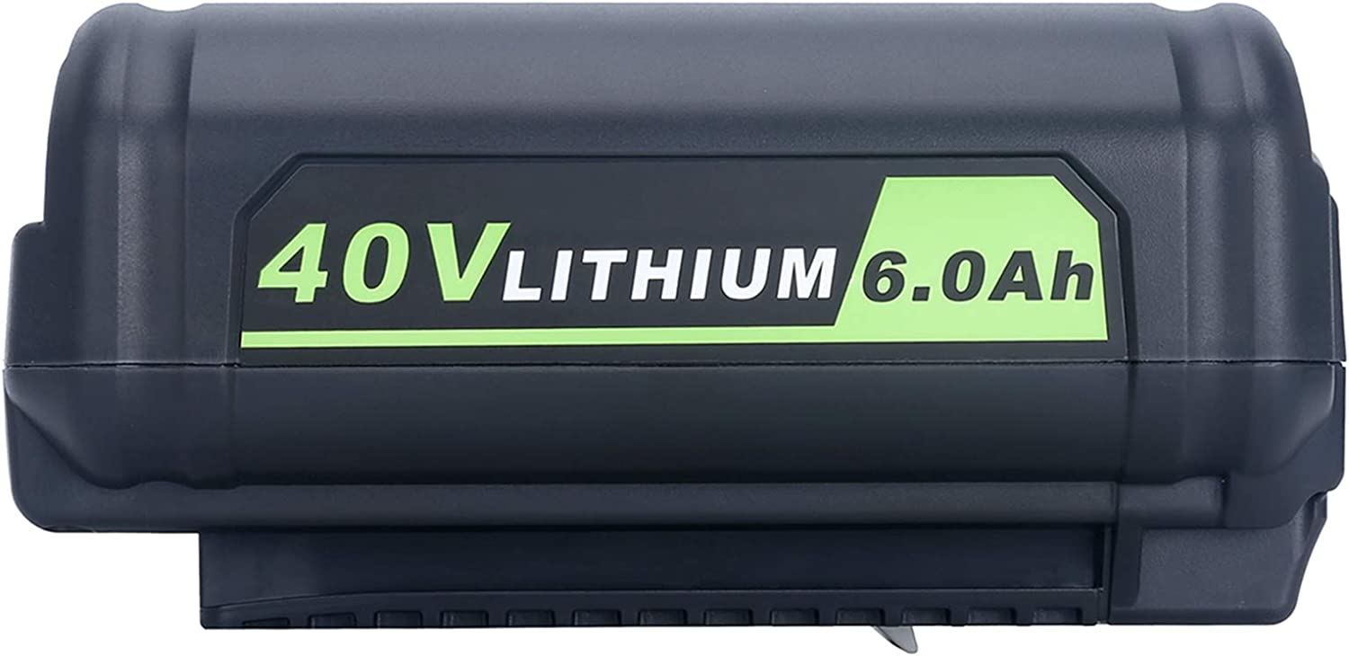 Lasica Replacement for Ryobi 40V Max 83% OFF OP Lithium In stock 6.0Ah OP4040 Battery