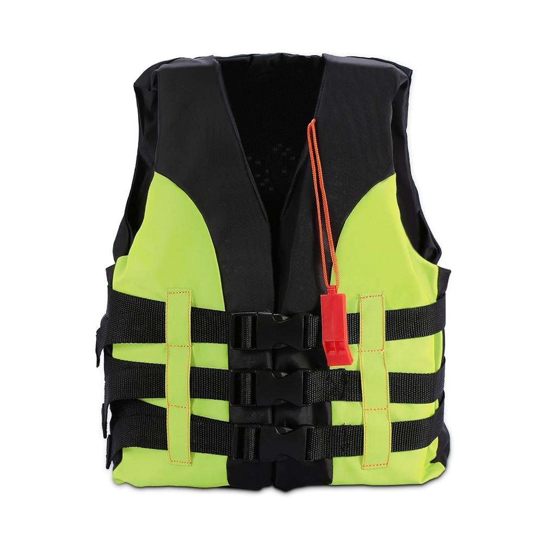 子供用 救命胴衣 ライフジャケット フローティングベスト 笛 付き け 子供 泳ぎ 漂流 釣り