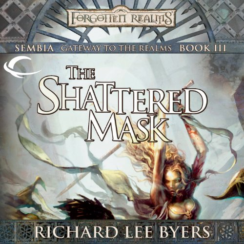The Shattered Mask audiobook cover art