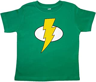 inktastic Superhero Baby Lightening Bolt Toddler T-Shirt