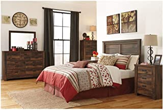 Amazing Buys Quinden Bedroom Set by Ashley Furniture - Includes Queen Bed, Dresser, Mirror, 2 Night Stands and Chest