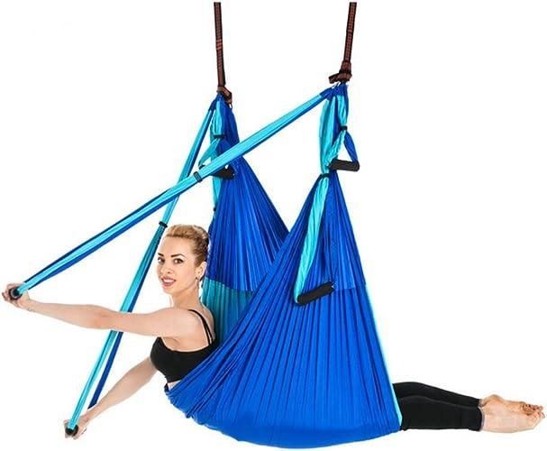 WGE Hamac Aérien D'oscillation De Yoga D'inversion D'antigravitation De Vol, équipement Aérien De Forme Physique De Pilates De Bodyfly De Yoga,B