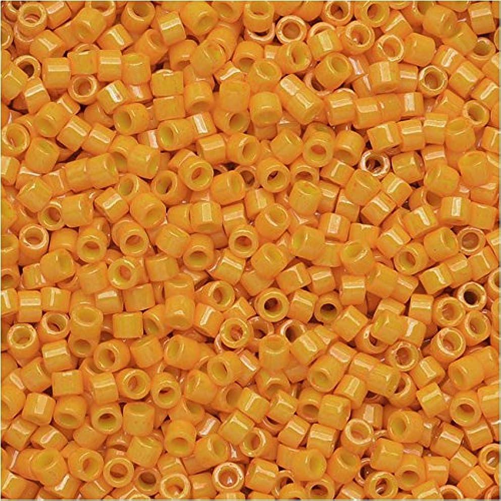 Squash Opaque Dyed (Db651-tb) Delica Myiuki 11/0 Seed Bead 7.2 Gram Tube Approx 1400 Beads