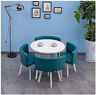 Table de salle à manger, 1 table, 4 chaises, café, bureau, balcon, hôtel, intérieur, restaurant, bureau, table ronde en bo...