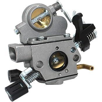SeekPro Carburador para Motosierra Stihl MS211 MS211 2 Mix MS211C MS211Z MS211C-BE MS211C-BE Z MPN ZAMA C1Q-S268C C1Q-S269C C1Q-S119C C1Q-S120C 1139 120 0612 1139 120 0613 1139 120 0601 1139 120 0602