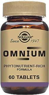 Solgar Omnium Phytonutrient Complex Multiple Vitamin and Mineral Formula Tablets, 60 Count