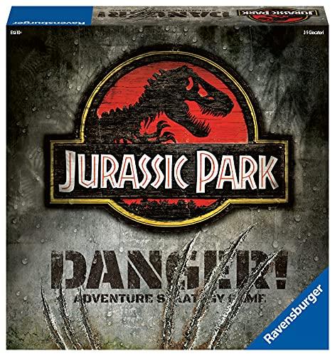 Ravensburger Jurassic Park Danger, Gioco di Strategia, Versione Italiana, 2-5 Giocatori, Età Consigliata 10+, Gioco da Tavolo, 269877