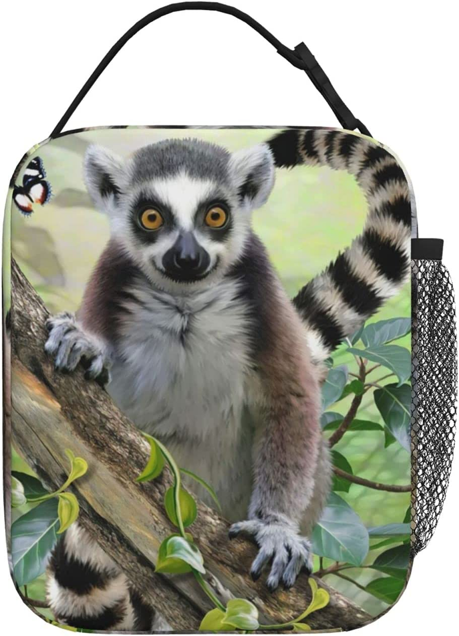 Tree Lemur Lunch Bag Rare Portable And Mesa Mall Preser Thermal Cold Insulation
