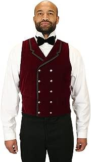 Historical Emporium Men's Gramercy Velvet Dress Vest