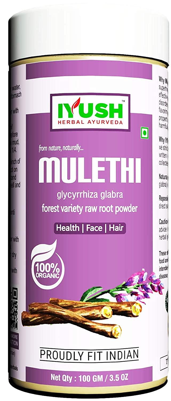 Felon IYUSH Translated Herbal Ayurveda Organic Ranking TOP19 Mulethi - 100gm Powder