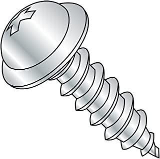 82 degrees Flat Head Pack of 500 Pack of 500 4 Length #14-10 Thread Size Zinc Plated Finish Type A Steel Sheet Metal Screw 4 Length Phillips Drive Small Parts 1464APF