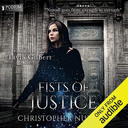 Fists of Justice audiobook cover art