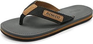 HUMMOO Mens Flip Flop Sandals