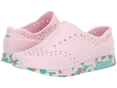Native Kids Shoes Lennox (Little Kid) (Blossom Pink/Konpeito/Hydrangea Blue) Girls Shoes