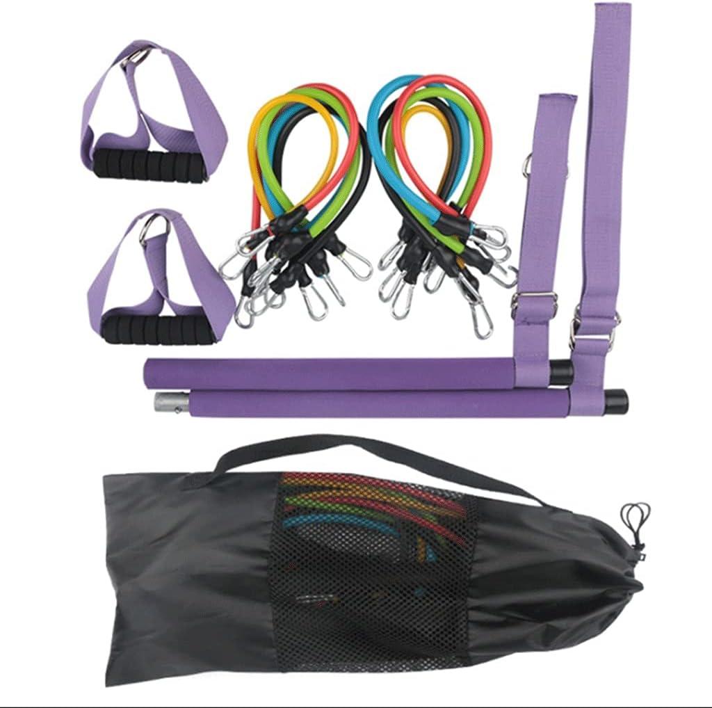 Max 50% OFF EODNSOFN 100LB Multifunctional Pilates Bar Cash special price Exe Set Portable Yoga