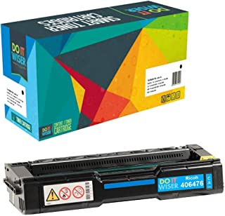 Do it Wiser Compatible Toner Cartridge Replacement for Ricoh Aficio SP C231N SP C231SF SP C232DN SP C232SF SP C242DN SP C242SF SP C310 SP C310A SP C311N SP C320DN - 406476 Cyan 6,000 Pages