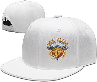 Van Halen Logo BaseballHat Men's Adjustable Fitted Hats Visor Black