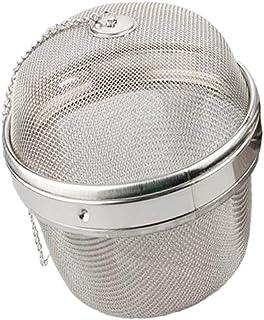 Flameer Stainless Steel Infuser Strainer Mesh Tea Filter Spoon Locking Spice Ball - 13cm