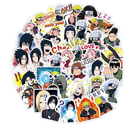 HUNSHA 40 unids/set de dibujos animados Anime PVC impermeable pegatinas Scrapbooking Diy Papelería etiqueta engomada del equipaje portátil