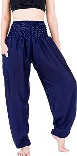 LOFBAZ Harembyxor för kvinnor Yoga Pyjamas Palazzo Moderskap Resekläder Joggare