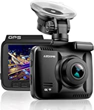AZDOME Car Dash Cam, 170 °Wide Angle Dashboard Camera, 1080P Full HD Driving Recoder Built in GPS WiFi, G Sensor, WDR Super Night Vision, Loop Recording, Parking Monitor, Motion Detection