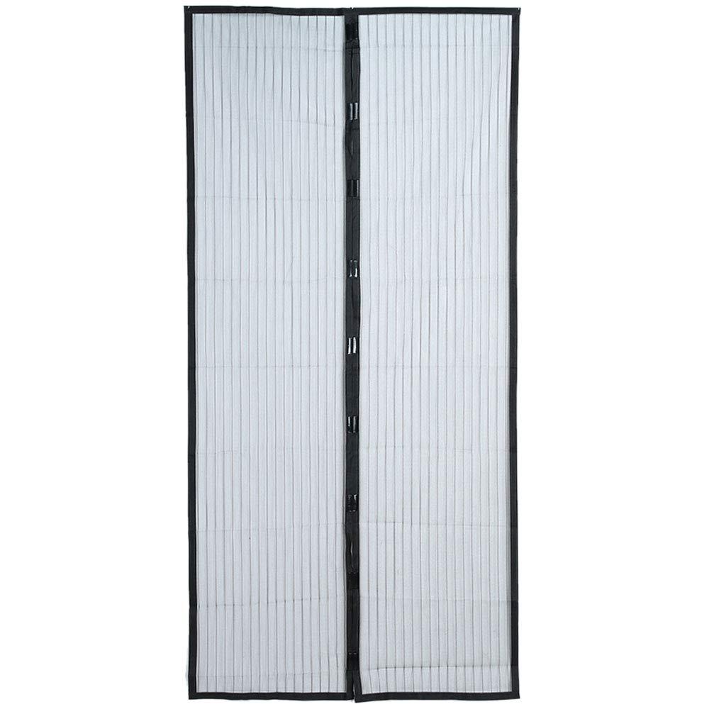 AIYoo - Cortina mosquitera magnética para puerta corredera de balcón, sala de estar, habitación de los niños para 100 x 210 cm: Amazon.es: Bricolaje y herramientas