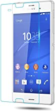 [2 Packs] Sony Xperia Z3 Compact Screen Protector, Tempered Glass Clear Screen Protector Scratch-resistant Screen Guard for Sony Xperia Z3 Compact