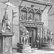 Nepal. Kathmandu-Hanuman Gate of Royal Palace - c1885 - Old Print - Antique Print - Vintage Print - Printed Prints of Nepal