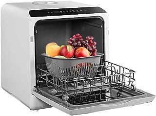 Lavavajillas automático de escritorio doméstico mini desinfectante de tazón de cepillo inteligente máquina todo en uno Lavado rápido de 360 grados con un botón, desinfección a alta temperatura a 7