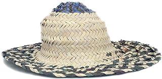 قبعة نخيل منسوجة يدويًا للأطفال