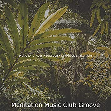 Music for 1 Hour Meditation - Laid-back Shakuhachi
