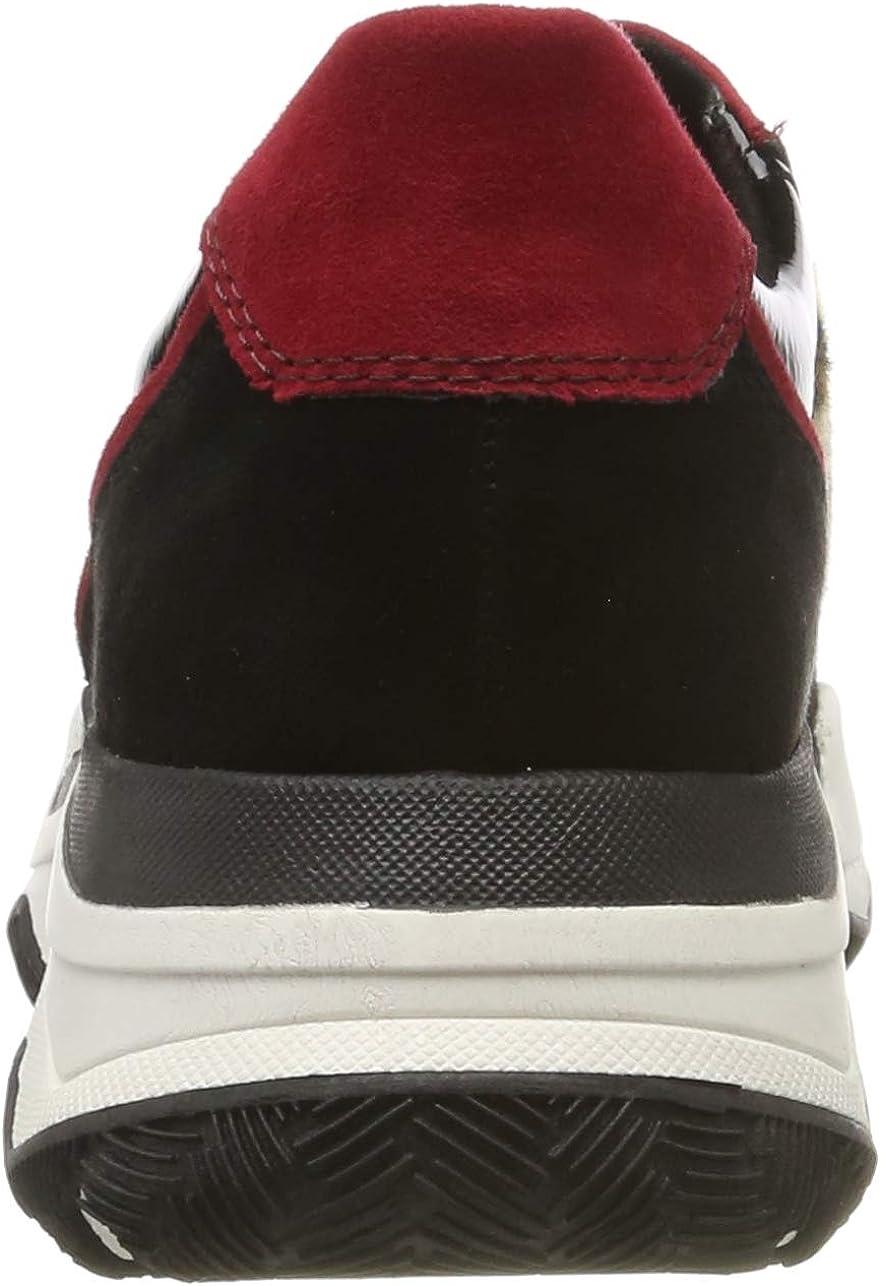 MARCO TOZZI 2-2-23746-33, Sneakers Basses Femme Noir Black Leo 005